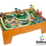 Kidkraft-Limited-Edition-Waterfall-Mountain-Train-Table-and-Train-Set-Wdrawers-0