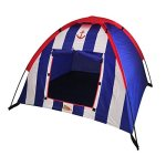 Kids-Adventure-Polyester-Striped-Dome-Tent-with-Carrying-Case-0-2