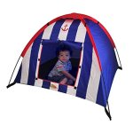 Kids-Adventure-Polyester-Striped-Dome-Tent-with-Carrying-Case-0
