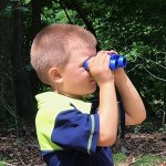 Kids-Binoculars-Childrens-Set-with-Case-and-Strap-For-Boys-and-Girls-Bird-Watching-Hunting-Astronomy-Field-Real-8×22-Folding-Kit-Small-Compact-Blue-Toy-Play-Outdoor-Presents-and-Gifts-0-2