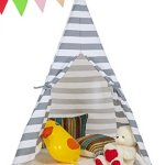 Kids-Canvas-Teepee-Play-Tent-Portable-Playhouse-By-Lubber-0-0