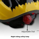 Kids-Yellow-black-Bicycle-Bike-Cycling-Helmets-Tail-Warning-Light-Protective-Gear-for-Toddler-Child-Children-KidsUltra-light-Outdoor-Kids-Safety-Helmet-for-Boy-Girl-Student-Pupil-Age-3-5-5-7-8-10-0-1