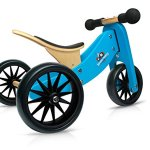 Kinderfeets-TinyTot-Wooden-Balance-Bike-and-Tricycle-Blue-2-in-1-0
