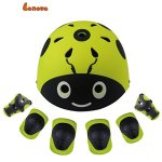 Lanova-Kids-Protective-Gear-Set-Child-Cartoon-Helmet-Knee-Elbow-Pads-Wrist-Guards-for-Roller-Bicycle-BMX-Bike-Skateboard-Hoverboard-and-Other-Extreme-Sports-Activities-0