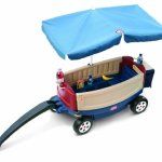 Little-Tikes-Deluxe-Ride-and-Relax-Wagon-with-Umbrella-0-0
