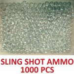 Lot-of-1000-quantity-solid-glass-marbles-Perfect-for-sling-shot-ammunition-Ammo-0