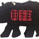 Lumberjack-Bear-Silhouette-Pinata-for-First-Birthday-by-APINATA4U-0