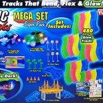 Magic-Tracks-Mega-Set-Super-Pack-with-Three-Cars-and-24-Feet-of-Tracks-480pc-0-0