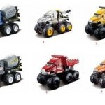 Maisto-Fresh-Metal-Builder-Zone-Quarry-Monsters-Yellow-Construction-Dump-Truck-0-0