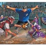 Melissa-Doug-Close-Call-Baseball-Jumbo-Jigsaw-Floor-Puzzle-48-pcs-2-x-3-feet-0