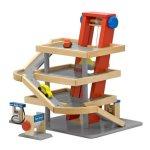 Melissa-Doug-Deluxe-Wooden-Parking-Garage-Play-Set-0-0