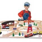 Melissa-Doug-Deluxe-Wooden-Railway-Train-Set-130-pcs-0