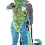 Melissa-Doug-Jumbo-T-Rex-Dinosaur-Lifelike-Stuffed-Animal-over-4-feet-tall-0