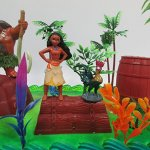 Moana-Tropical-Themed-Birthday-Cake-Topper-Set-Featuring-Moana-Figure-and-Decorative-Accessories-0-1