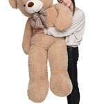 MorisMos-47-inches-Giant-Huge-Teddy-Bear-Stuffed-Animals-Plush-Toy-for-Children-Girlfriend-Tan-0-1