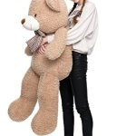 MorisMos-Big-Teddy-Bear-Stuffed-Animals-Plush-Toy-for-Girlfriend-Children-Tan-39-inches-0-0