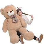 MorisMos-Big-Teddy-Bear-Stuffed-Animals-Plush-Toy-for-Girlfriend-Children-Tan-39-inches-0