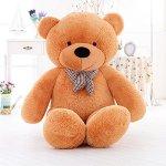 MorisMos-Giant-Teddy-Bear-Plush-Stuffed-Animals-Soft-Toys-For-Children-Kids-Girlfriend-55-14M-Brown-0