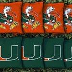 NCAA-Replacement-All-Weather-Cornhole-Bag-Set-NCAA-Team-Miami-Hurricanes-0
