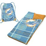 NFL-Miami-Dolphins-Drawstring-Carry-Bag-with-Sleeping-Sack-Green-0