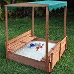 Naomi-Home-Kids-Canopy-Cedar-Sandbox-with-2-Convertible-Benches-0-1
