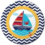 Nautical-Baby-Shower-Supplies-Decorations-Set-Including-Plates-Napkins-Cups-Table-Cover-and-Banner-0-0