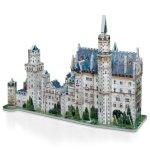 Neuschwanstein-Castle-3D-Jigsaw-Puzzle-890-Piece-0-1