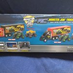 New-Bright-RC-RC-Monster-Jam-Truck-Hauler-Radio-Control-Hauler-With-Detachable-Trailer-Comes-With-2-Radio-Control-Vehicles-Monster-Trucks-Zombie-Grave-Digger-And-Max-D-0-0