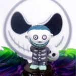 Nightmare-Before-Christmas-10-Piece-Deluxe-Cupcake-Topper-Set-Featuring-Zero-Barrel-Lock-Shock-Sally-Jack-Skellington-and-Other-Decorative-Themed-Accessories-Cake-Topper-Figures-Range-from-2-to-3-Tall-0-2