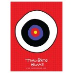 Orange-Tie-Dye-Bow-Arrows-Set-with-Bulls-Eye-0-0