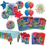 PJ-Masks-Birthday-Party-Supplies-8-Guest-Kit-and-Balloon-Bouquet-Decorations-54-pc-0