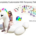 Party-With-Pride-Giant-Inflatable-Unicorn-with-Cup-Holders-Legs-and-Rainbow-Colors-Customizable-with-Included-Tattoos-0-1