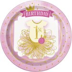 Pink-And-Gold-1st-Birthday-Party-Bundle-Plates-Napkins-Table-Covers-Banner-And-High-Chair-Decorating-Kit-Serves-24-0-0