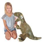 Prextex-24-Giant-Plush-Dinosaur-T-Rex-Jumbo-Cuddly-Soft-Dinosaur-Toys-for-Kids-0-2