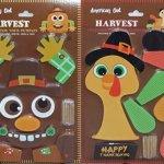 Pumpkin-Decor-Kit-Push-In-No-Carving-for-Fall-Halloween-Thanksgiving-2pk-Scarecrow-Turkey-0