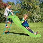 Pure-Fun-Home-Playground-Equipment-6-IndoorOutdoor-Wavy-Slide-Youth-Ages-4-to-10-0-0