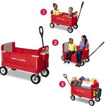 Radio-Flyer-3-in-1-EZ-Fold-Wagon-Ride-On-0-0