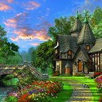 Ravensburger-Tranquil-Countryside-Jigsaw-Puzzle-3000-Piece-0-0