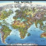 Ravensburger-World-Map-Jigsaw-Puzzle-2000-Piece-0-0