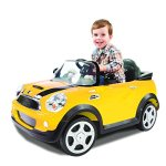 Rollplay-MINI-Cooper-6-Volt-Battery-Powered-Ride-On-Yellow-0-1