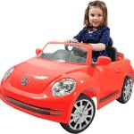 Rollplay-VW-Beetle-6-Volt-Battery-Powered-Ride-On-Red-0-0