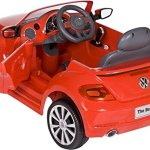 Rollplay-VW-Beetle-6-Volt-Battery-Powered-Ride-On-Red-0-1