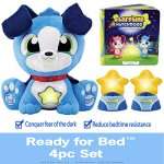 STARSHINE-WATCHDOGS-Soothing-Talking-Stuffed-Animal-Sleep-Toy-for-Boys-w-Remote-Control-Kids-LED-Night-Light-Story-Book-Limited-BONUS-includes-Coloring-Pages-3rd-FREE-Nightlight-blue-0
