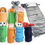 SUPER-FUN-UNIQUE-Sleeping-BagOvernight-Travel-Kit-For-Kids-BuddyBagzs-All-in-1-Traveling-Made-Easy-Solution-Complete-WStuffed-Animal-Pillow-Sleeping-Bag-Overnight-Bag-0