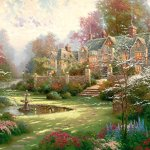 Schmidt-Puzzle-2000-pieces-The-country-house-Thomas-Kinkade-cod57041-0-0