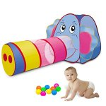 Sonyabecca-Play-Tent-Tunnel-Playhouse-for-Kids-GirlsBoysPop-Up-Play-Tent-Crawl-Tunnel-Ball-Pit-0
