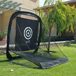 Spornia-SPG-5-Golf-Practice-Net-Automatic-Ball-Return-System-with-Target-sheet-Two-Side-Barrier-and-Chipping-Target-0-0
