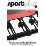 SportPlus-Silent-Fitness-Mini-Trampoline-with-Handle-Bar-OR-Replacement-Bungees–Indoor-Rebounder-for-Adults–Best-Urban-Cardio-Workout-Home-Trainer-Covered-Bungee-Rope-System–Max-286-lbs-0