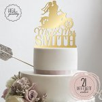 Sugar-Yeti-Brand-Made-in-USA-Custom-Cake-Toppers-Mr-Mrs-Motorcycle-Wedding-Cake-Toppers-Personalized-With-Last-Name-0-1
