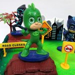 Super-Hero-PJ-MASKS-Deluxe-Birthday-Party-Cake-Topper-Set-Featuring-Figures-and-Decorative-Accessories-0-0